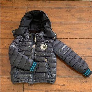 Boys Diesel Puffer coat Size 6